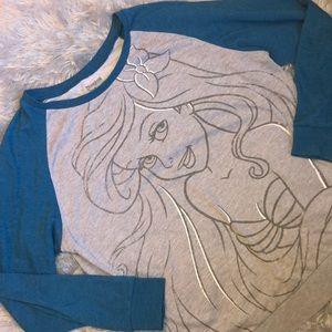 Women's Little Mermaid Princess Sweater